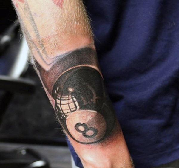 8 ball tattoo idea