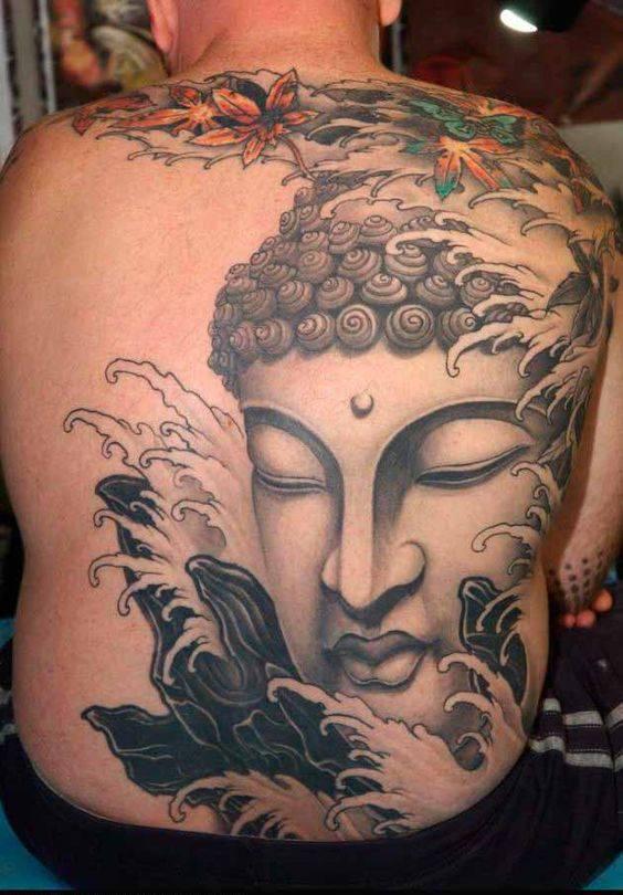 Lotus flower tattoos buddhist