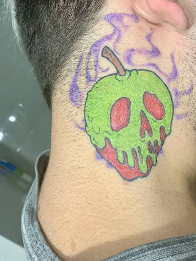 Poison Apple Tattoo design