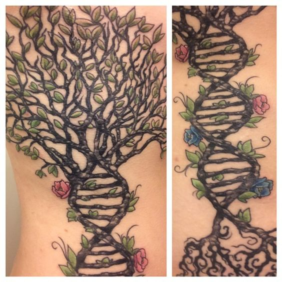 Tree of Life DNA Tattoo