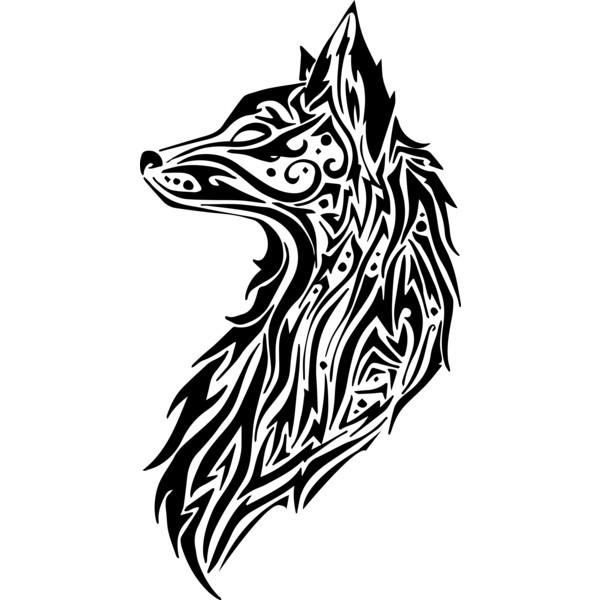 Tribal Fox-Tattoo