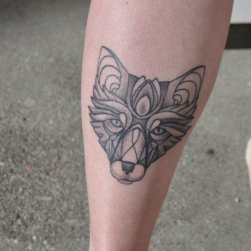 celtic fox tattoo