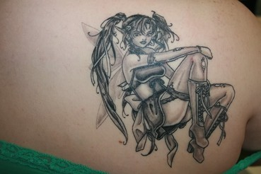gothic fairy tattoos