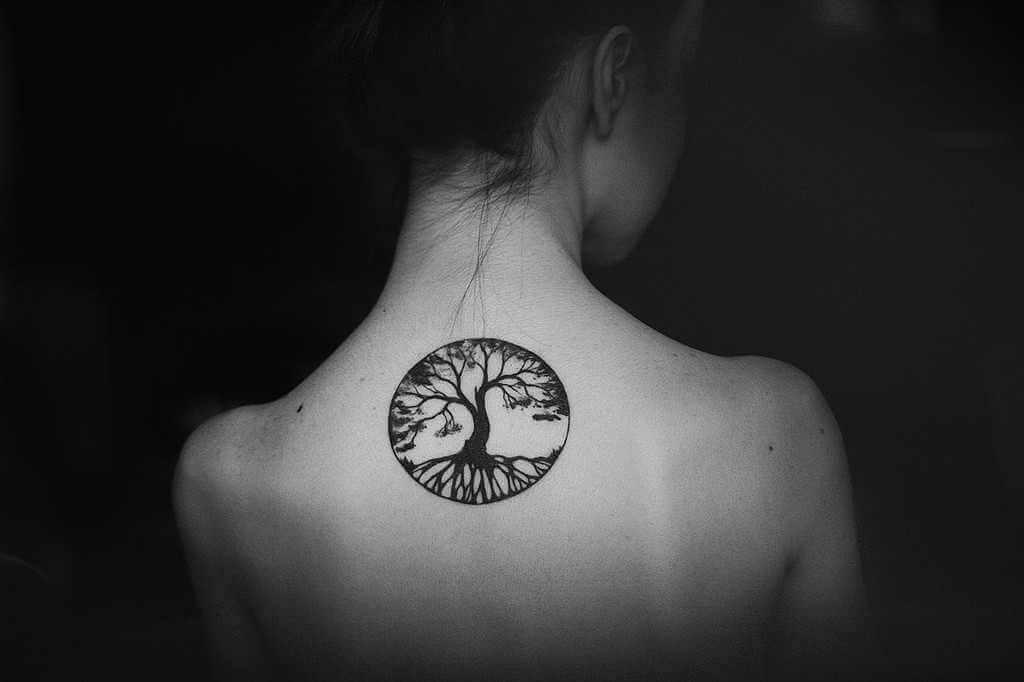 tree of life tattoo symbol