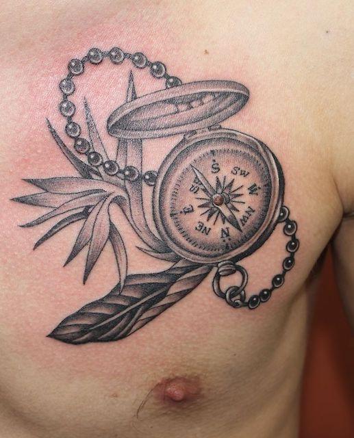 Gyro Compass Tattoo