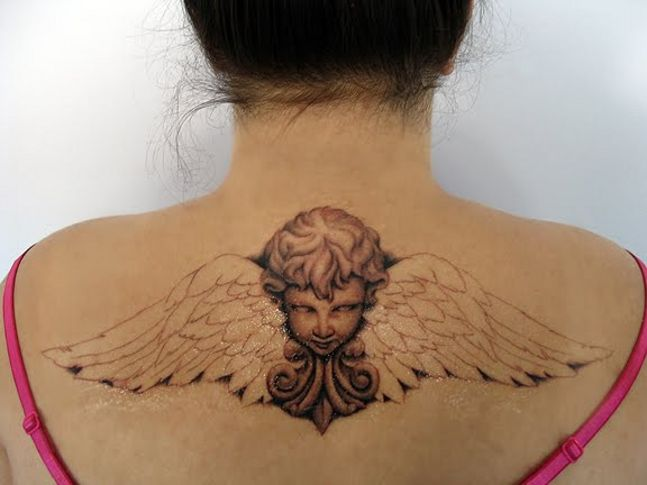 cherub angel tattoo