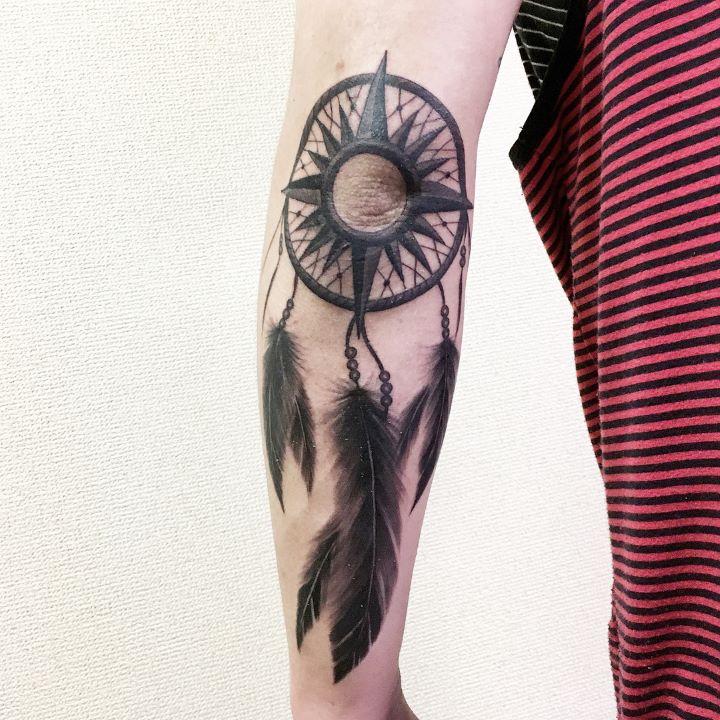 dreamcatcher tattoo guys
