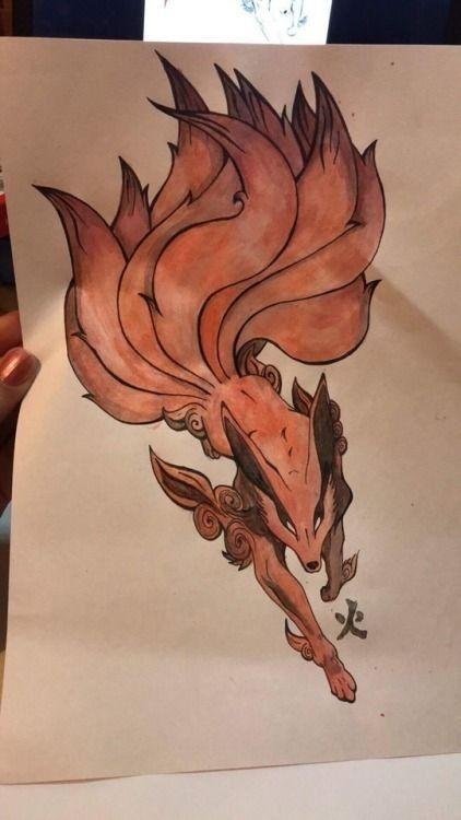 kitsune design by Rastishka