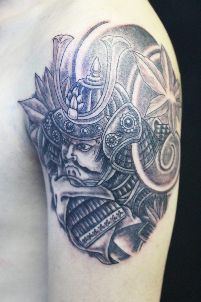 traditional samurai tattoo