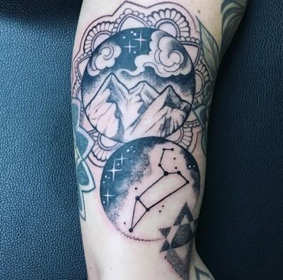 Leo sign tattoo idea