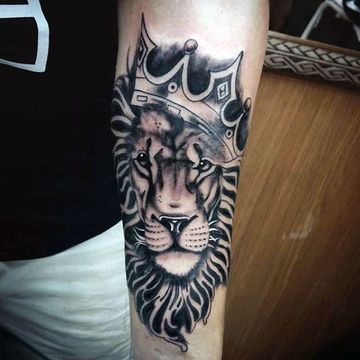 Leo tattoo lion