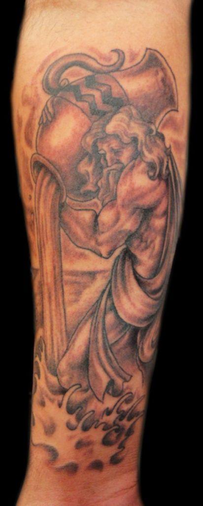 Aquarius symbols tattoos