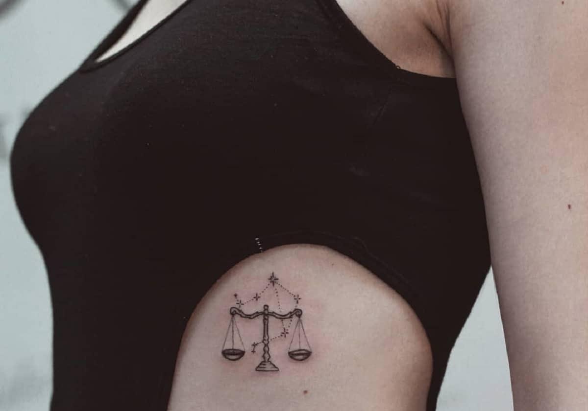 most beautiful Libra tattoos